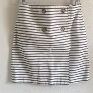 EUC LOFT | Nautical striped skirt